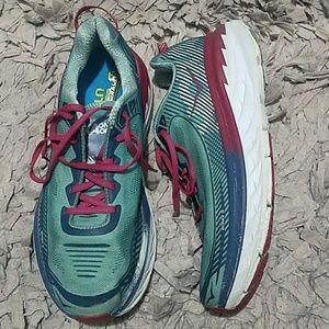 Hoka One One Womens Bondi 5 Athletic Shoes Size 11